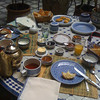 Our breakfast in 'Riad al Bartal' in Fez, Morocco.<br /> (Photo taken with my iPhone 3G, and SmugShot automatically sent it to this page!!)