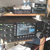 My (old) ICOM IC-7700 shortwave transceiver. A beast!!<br /> (was superseeded by a ICOM IC-7800 recently)<br /> (Photo taken with my iPhone 3G, and SmugShot automatically sent it to this page!!)