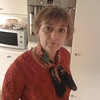 My (younger) sister Ellen, making coffee in my mothers kitchen, giving me the WTF look....<br /> (Photo taken with my iPhone 3G, and SmugShot automatically sent it to this page!!)