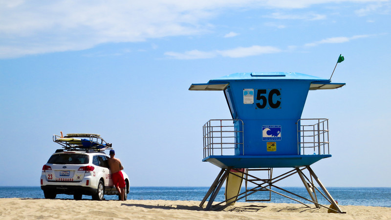 Lifeguard Station on Coronado Beach