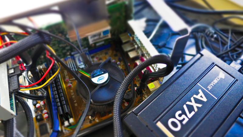 Corsair AX750 power supply