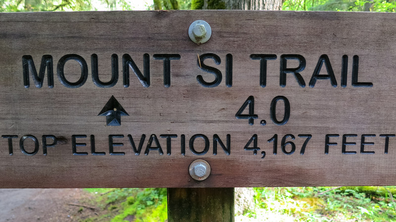 Welcome to Mt Si Trail