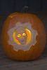Gears of War pumpkin head