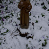 even st. francis was cold.