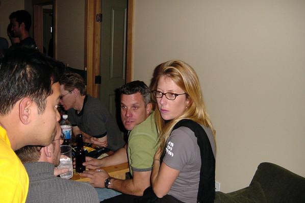 Jim and Christine party at Juniper Springs