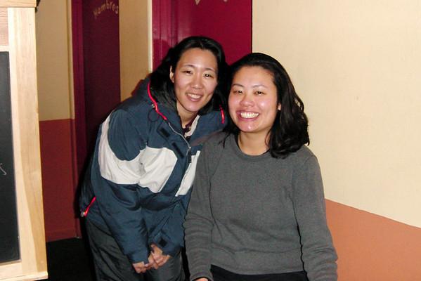 Lori and Bernice await nearby