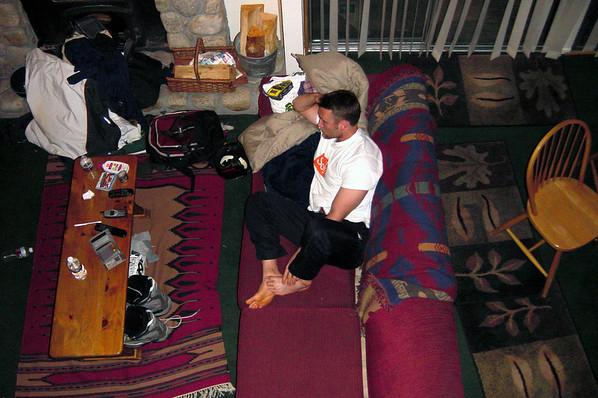 Mountain Shadows F16 - Jason watches TV (P1)