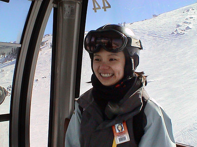 We meet back up with Val and take the gondola to the top (IP55)
