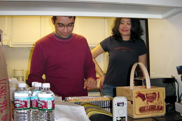 F16 - Paul serves cake for Bernice