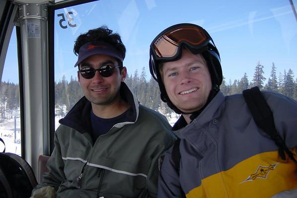 Gondola - Paul and Jeremy