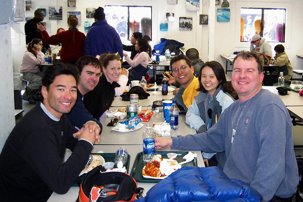 Our lunch group (photo from Marc's camera)
