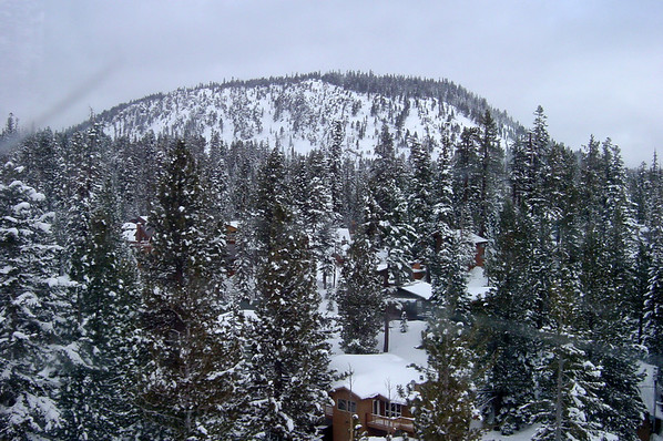 DAY 2 - We take the gondola to Canyon Lodge