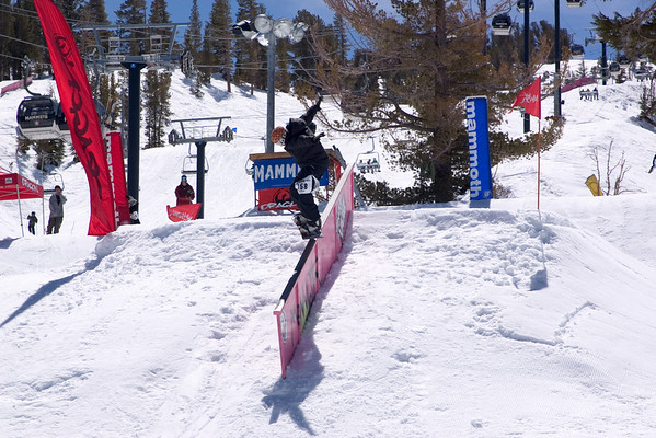 Today, Mammoth's Unbound hosts the Dragon Three Ring Circus, an amateur rail jam event