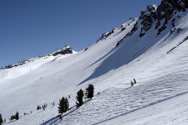 View from Chair 12 towards Face Lift