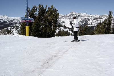This is disturbing...especially because Mammoth received six feet of fresh snow a week ago