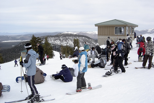 We expect to find crowds on Canyon Express, especially on Saturday