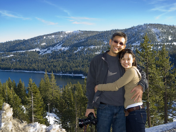 Eric and Valerie by Donner Lake (Photo by Pete)