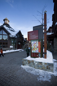 Entrance to The Village at Northstar