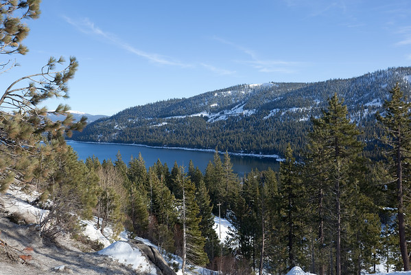 We are still 14 miles from our destination and nearly 20 miles from Lake Tahoe