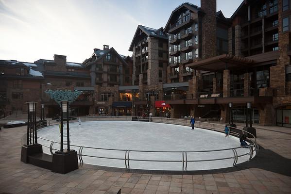 Tiny ice rink
