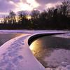Sunburst path, Hemlock Park<br /> Ottawa County, MI