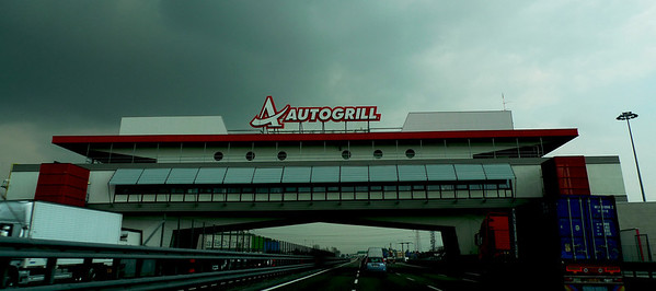 on way to brescia autogrill