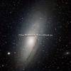 ANDROMEDA GALAKSEN M31, M32 og M110
