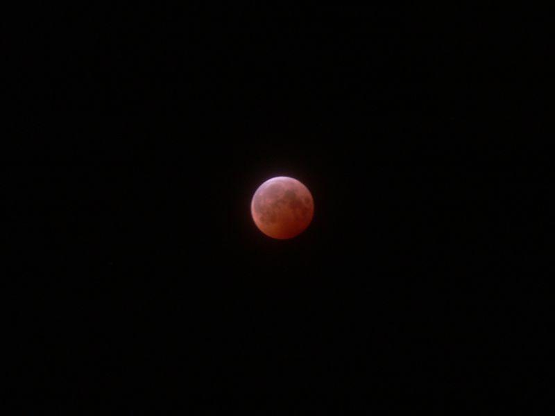 Lunar Eclipse 10/27/04, West Lafayette, IN