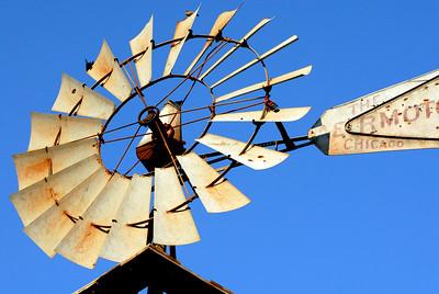 Windmill near Arcadia Lake, Oklahoma