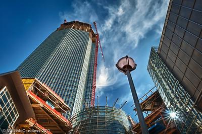 New Devon building, still under construction in OKC.  Photos taken June 4th, 2011