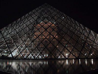 The Louvre - Paris - April 2002