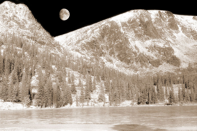 St. Mary's Glacier, Colorado - November 1976