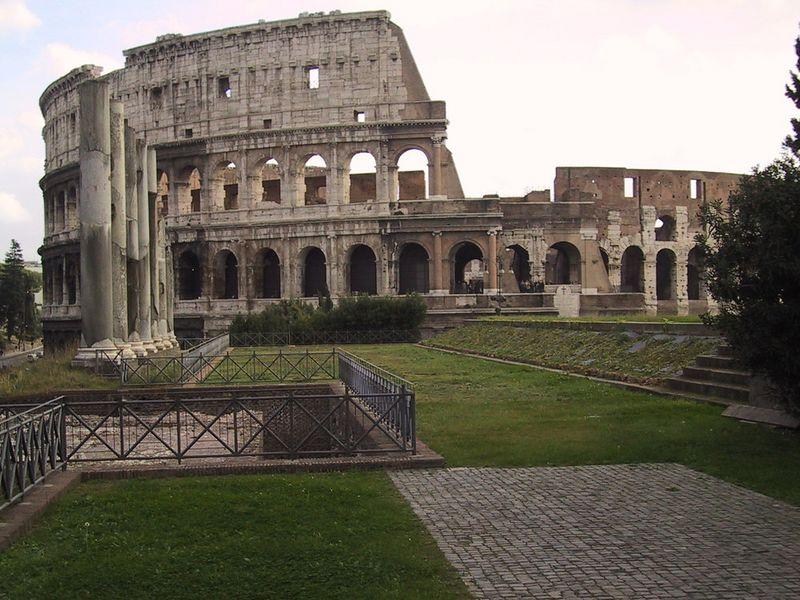 The Coliseum - Rome - November 2001