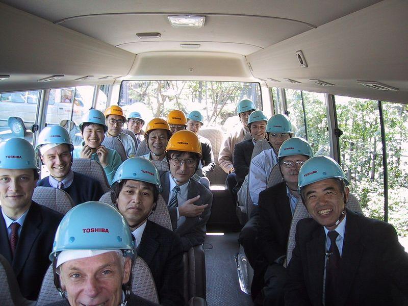 Toshiba - April 2001