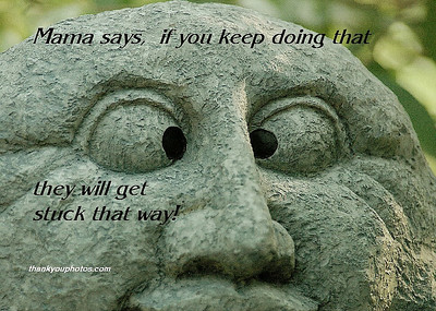 Mama says,