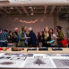 Utah State University's printmaking studio has its annual Christmas Printmaking Sale in Logan, Utah, Nov. 29, 2017. Both art students and teachers are able to create and sell pieces in the print sale. Available pieces range from screen printed holiday cards to lithographs and posters.  (Megan Nielsen/USUPJ)