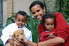 Yared, Anna Getanah, Ida and Zambi (puppy), Ilovo, johanesburg, South Africa