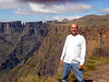 Me, at the summit of Mont aux Sources (3278 Meters), and highest peak of the Drakensburg Escarpment, Royal Natal National Park, Kwazulu-Natal, South Africa