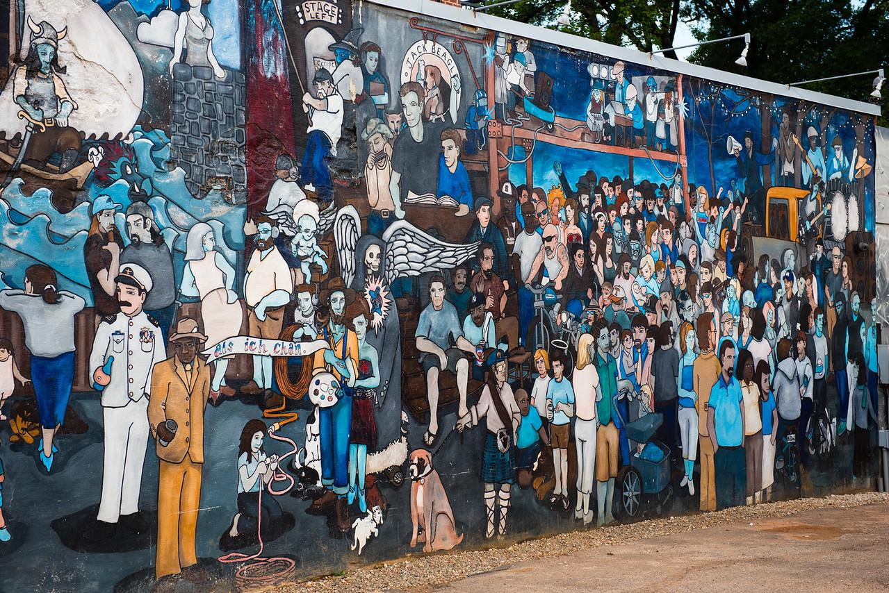 Charlotte, NC  Mural