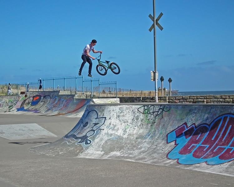 BMX at South Shields Skatepark