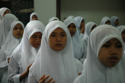 Girls at Asaffiyah Orphanage - Jakarta, Indonesia
