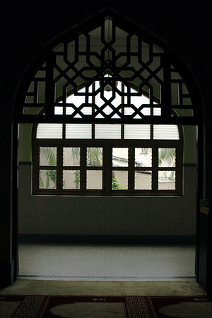 Window - Sultan Mosque, Singapore