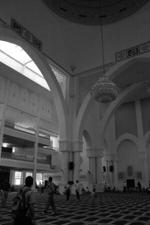 International Islamic University Mosque - Kuala Lumpur, Malaysia