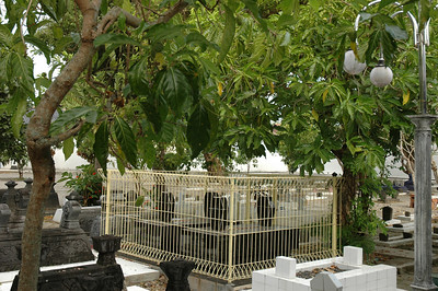 Unknown grave at Tomb of Sunan Giri near Gresik, Indonesia