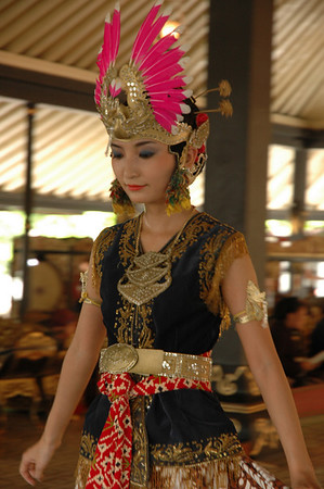 Performer in Sultan's Palace - Jogjakarta, Indonesia