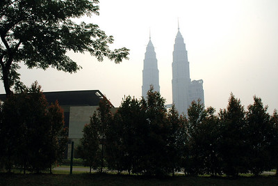Dusk skyline - Kuala Lumpur, Malaysia