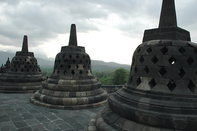 Buddhist Temple Complex - Borobudur, Indonesia