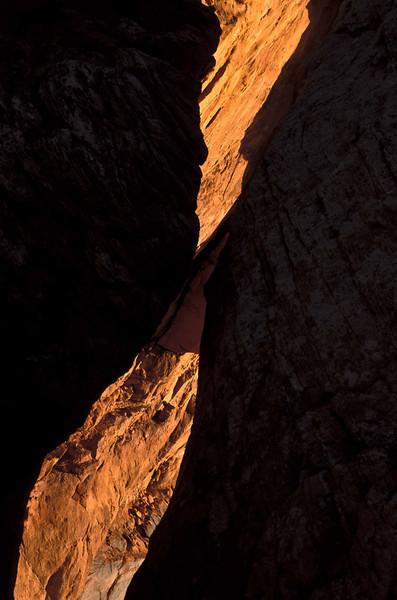 Desert slash.  Mesa Arch - Canyonlands.<br /> Photo © Carl Clark