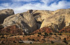 Fantastic landscape along Waterpocket Fold, Capitol Reef National Park.<br /> Photo © Cindy Clark