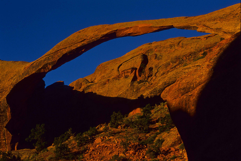 Classic Landscape Arch in, appropriately, Arches National Park.<br /> Photo © Carl Clark
